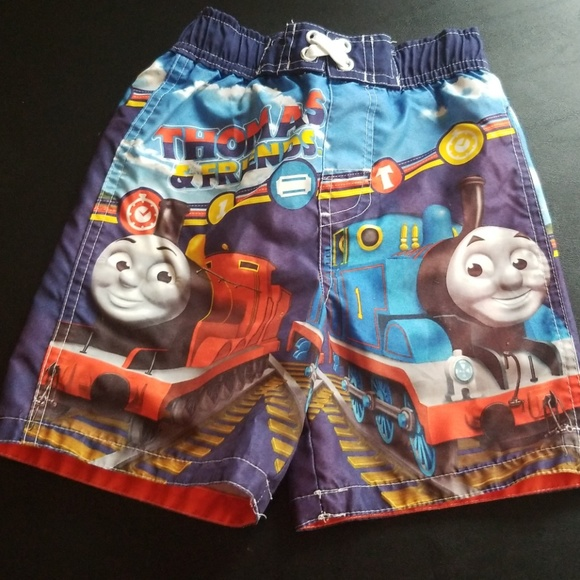 93fef07c2f Thomas & Friends Swim | Thomas And Friends Boys Ming Trunks | Poshmark